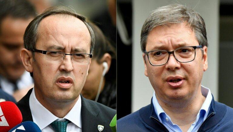 Baltajā namā sākas Serbijas-Kosovas sarunas