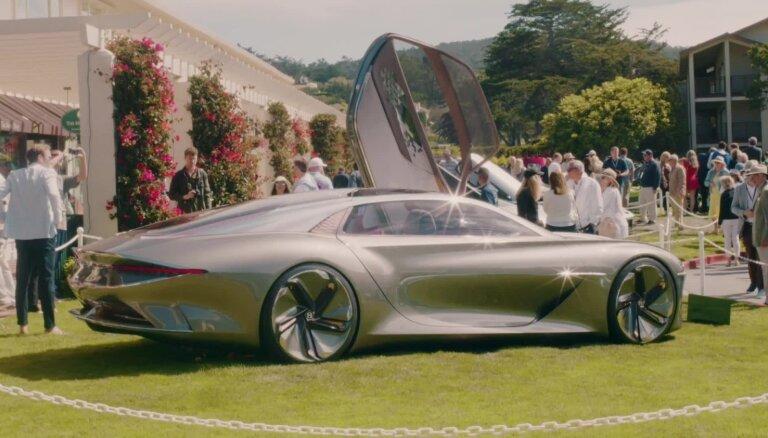 'Bentley' savā simtgadē prezentē nākotnes konceptu 'EXP 100 GT'