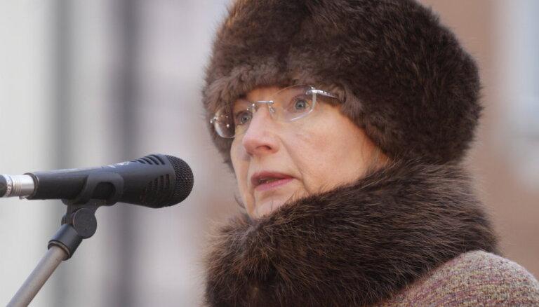 Ingunai Sudrabai 50 - pieci spēcīgi politiķes citāti