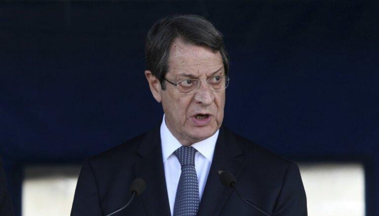 Kipras prezidents paziņo par kandidēšanu uz otro pilnvaru termiņu