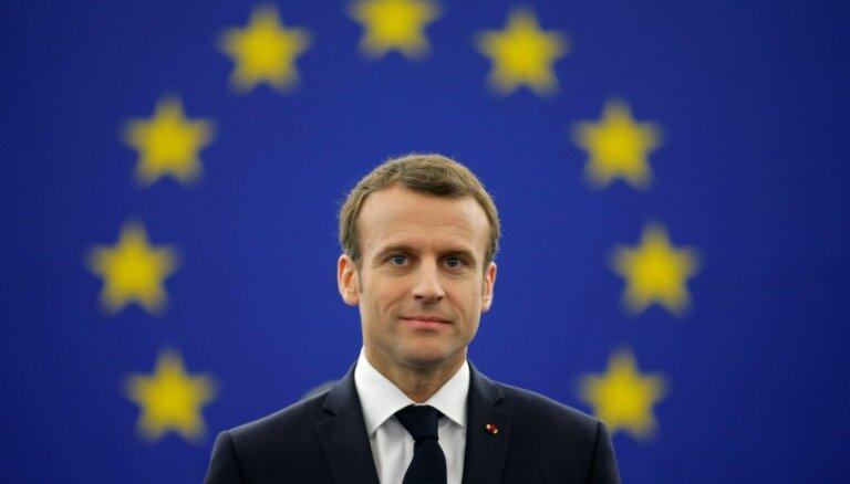 Президент Франции Макрон призвал Европу к большей независимости