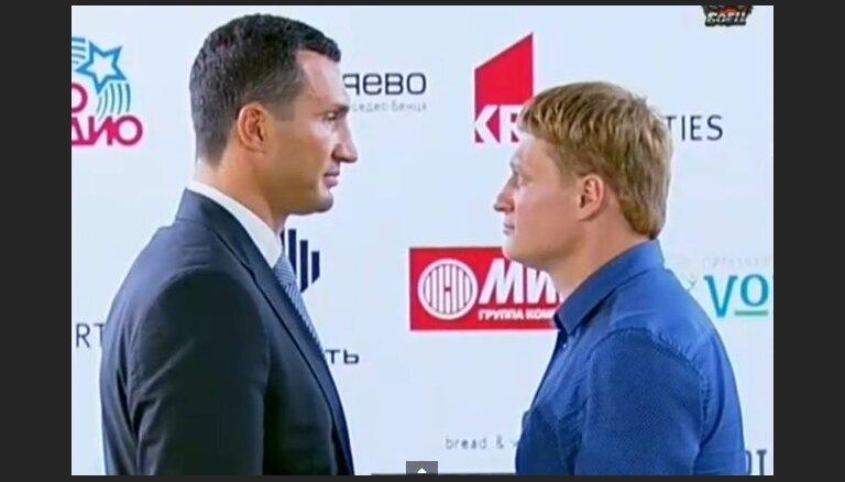 Кличко согласился на реванш с Поветкиным