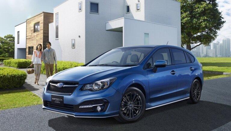 'Subaru Impreza' turpmāk arī hibrīda versijā
