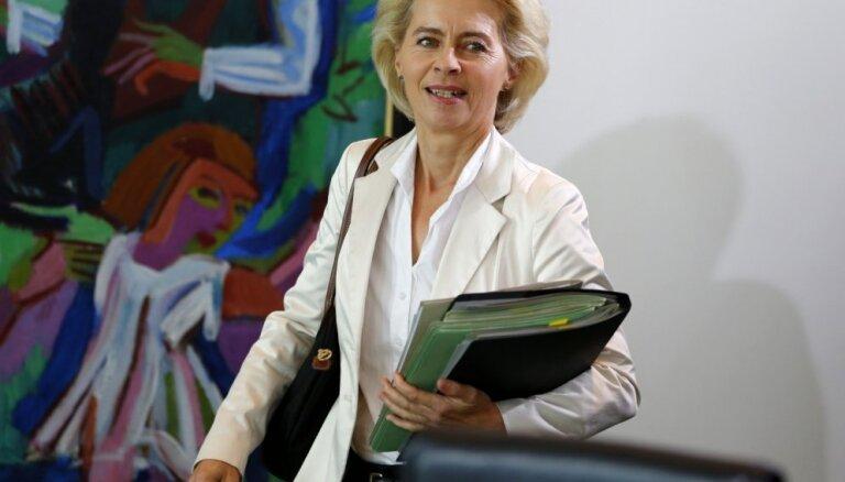 Урсула фон дер Ляйен огласила новый состав Еврокомиссии. В него вошел и Домбровскис