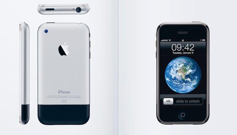 Pirms 10 gadiem sākās atkarība: 'iPhone' svin dzimšanas dienu