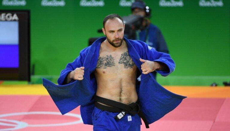 Džudo cīkstonis Borodavko izcīna septīto vietu 'Grand Slam' posmā Jekaterinburgā