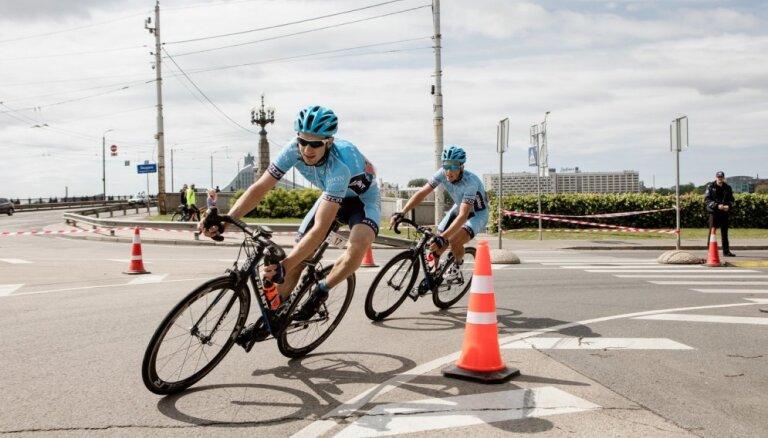 Bogdanovičs triumfē 'Toyota' Rīgas velomaratonā