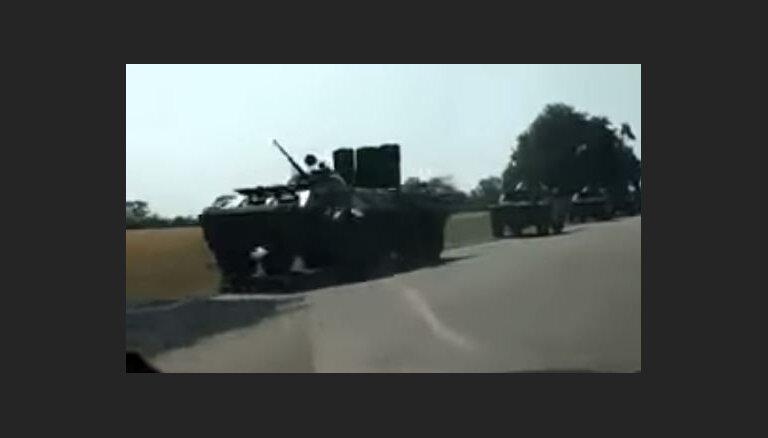 Moldova novēro Krievijas karaspēka pārvietošanos Piedņestrā; informē EDSO