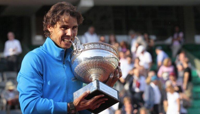 Nadals kļūst par seškārtējo 'French Open' čempionu