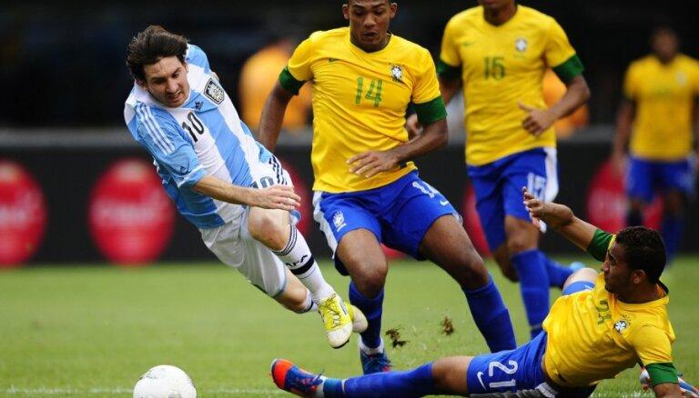 Хет-трик Месси принес Аргентине победу над Бразилией