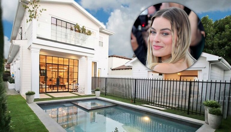 Foto: Ieskats namā, kuru slepus nopirkusi Holivudas zvaigzne Margo Robija