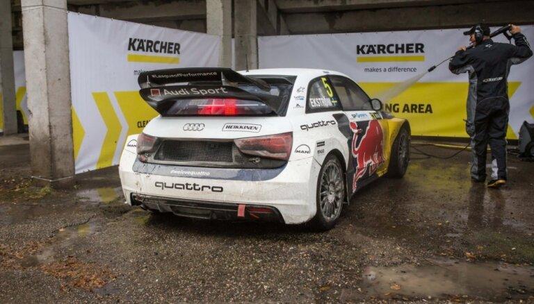 Чемпионат мира по ралли-кроссу FIA выбирает Kärcher