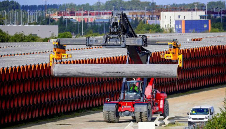 Ušakovs, Ameriks un Ždanoka nespēj bloķēt 'Nord Stream 2' iekļaušanu EP rezolūcijā par Navaļnija saindēšanu