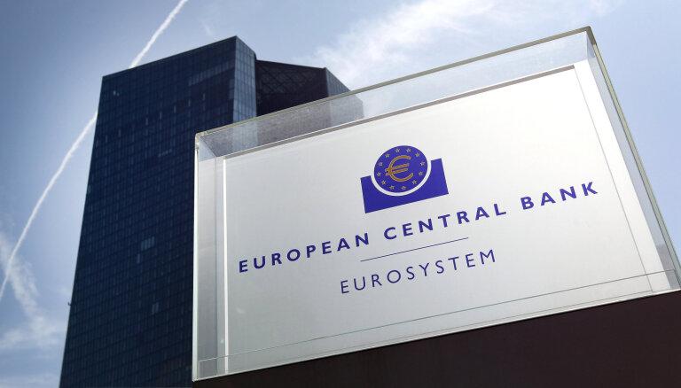 ECB nemaina ne bāzes procentu likmes, ne aktīvu iepirkšanas programmas apjomus