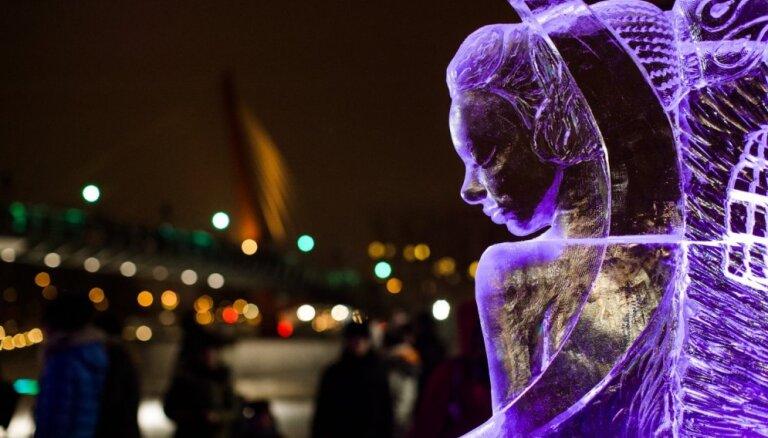 21. Starptautisko Ledus skulptūru festivālu Jelgavā aizvadīs kino gaisotnē