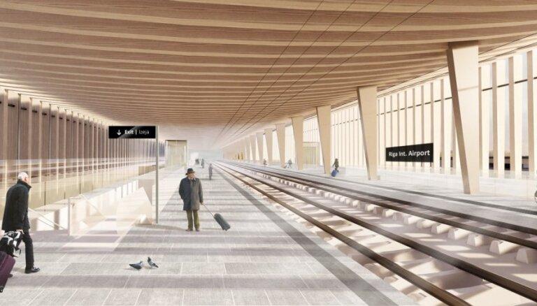 'Rail Baltica' lidostas atzara novērtējumu veiks 'RINA Services S.p.A.'