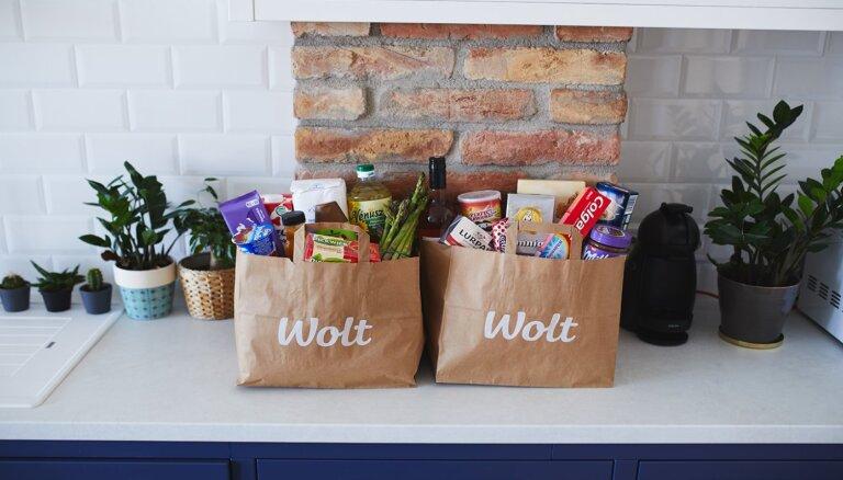 Pasūti pārtiku no 'Wolt' – ērti un ātri!