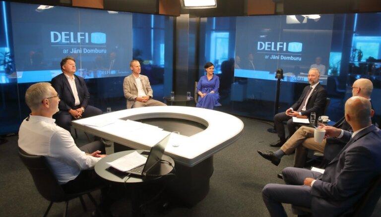 'Delfi TV ar Jāni Domburu' diskusija 'Likumprojekts par Covid-19 vakcināciju darbavietās: par vai pret?' Pilns ieraksts