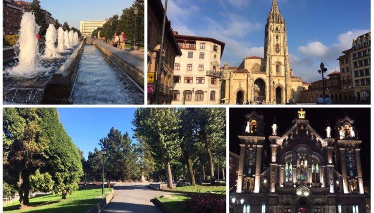 Citāda Spānija: saulainais rudens burvīgajā ziemeļu pilsētā Ovjedo