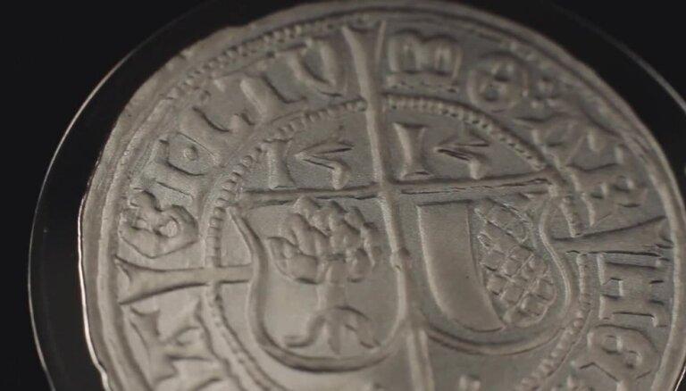 5 eiro sudraba kolekcijas monētu 'Vērdiņam 500'