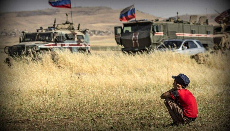 Krievija Sīrijā rekrutējusi ap 300 algādžu karošanai Lībijā