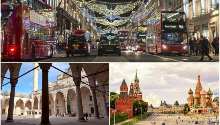 Iedvesmojies ceļojumam: 2017. gada 'Instagram' fotografētākās vietas un valstis
