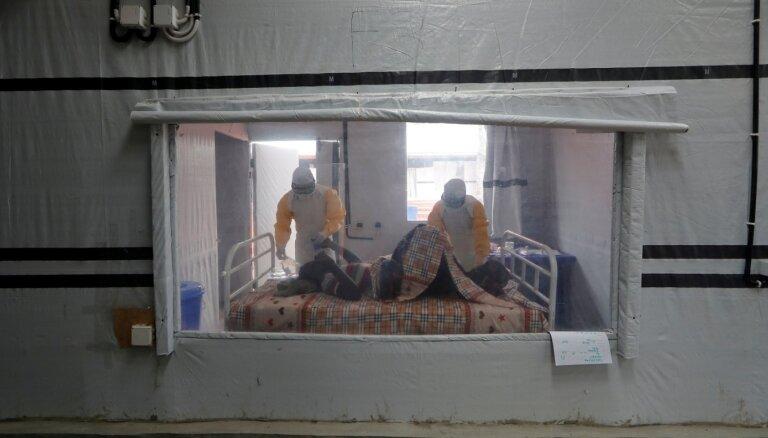 Kongo DR paziņo par jaunu Ebolas uzliesmojumu valsts ziemeļrietumos