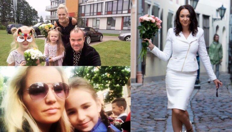 Foto: Kā 1. septembri atzīmē populāri latvieši