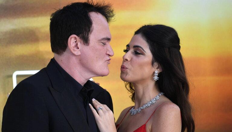 Kventins Tarantino 56 gadu vecumā pirmoreiz kļūs par tēvu