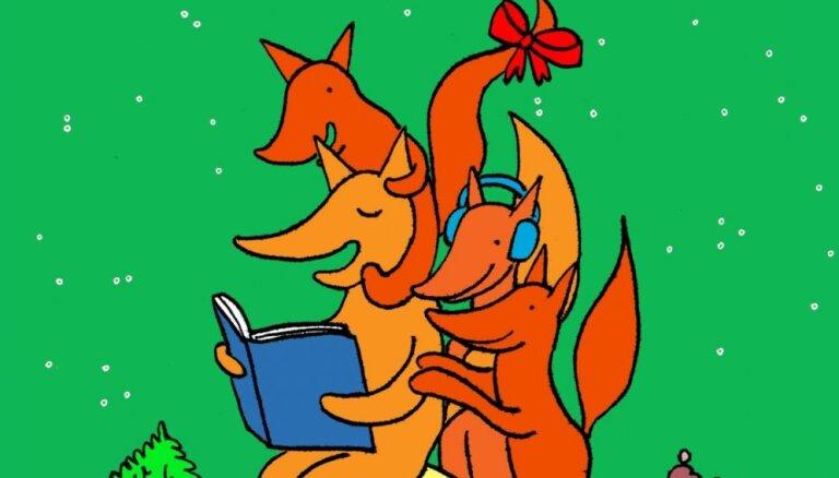 'Liels un mazs' aicina iepazīties ar jaunākajām bērnu grāmatām tiešsaistes lasījumos