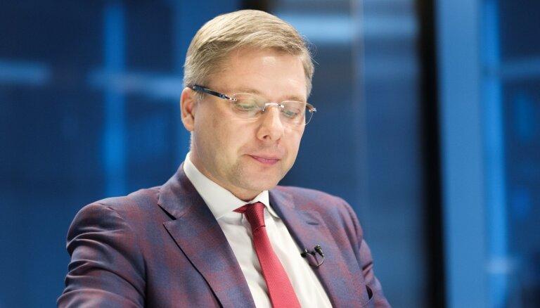 """Ушаков обещает """"чистки"""" в """"Согласии"""" и подумывает вернуться в Рижскую думу"""