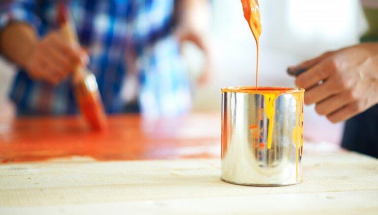 Krāsas smaka mājoklī: seši ieteikumi tās izgaiņāšanai