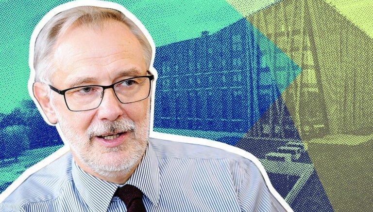 Mārcis Auziņš par izaicinājumiem un to, kas palika 'aiz kadra' rektora amatā