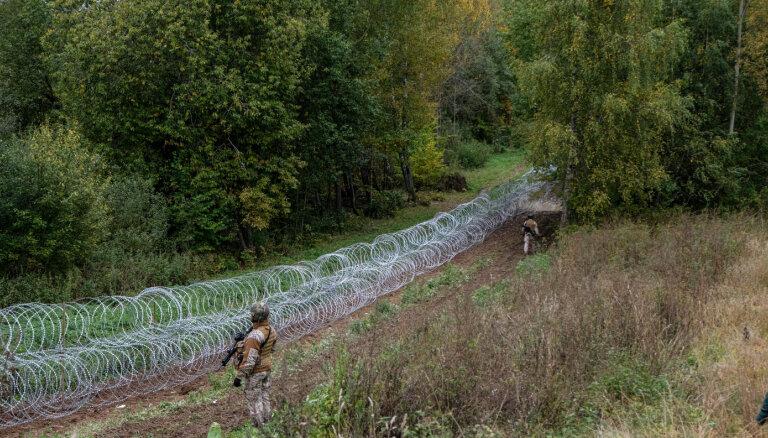 No piektdienas līdz svētdienai Latvijas – Baltkrievijas robežu nelikumīgi mēģināts šķērsot 64 reizes