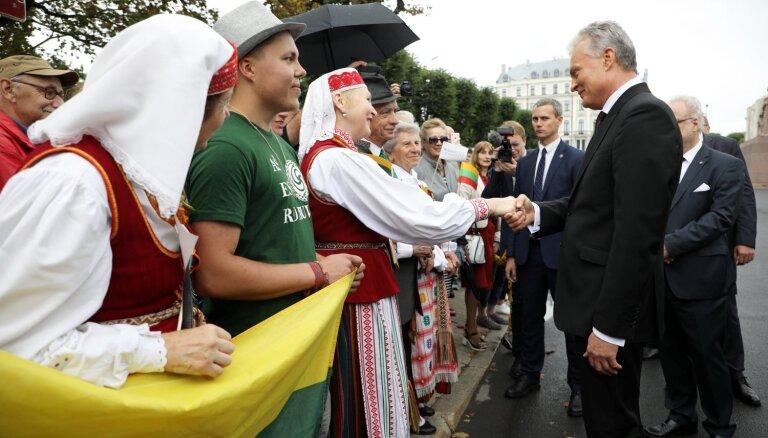 Foto: Lietuvas prezidents Nausēda viesojas Latvijā