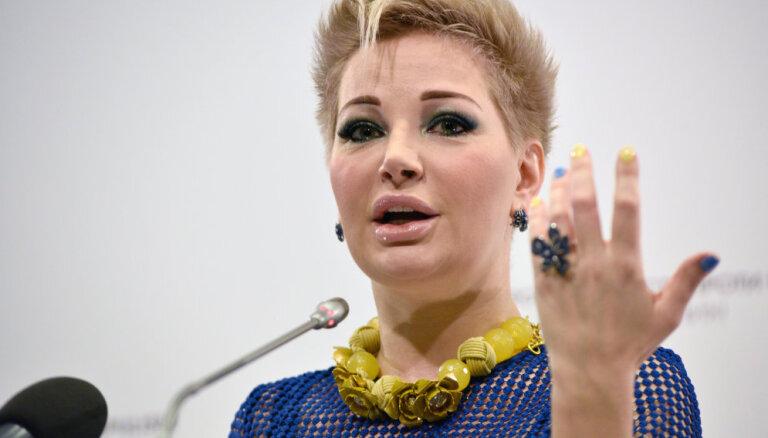 Мария Максакова вернулась из Киева в Россию