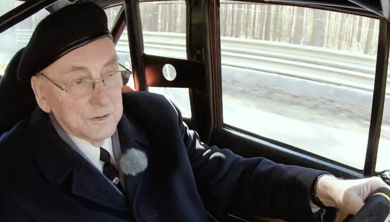 'Ātruma cilts' video: 90 gadus vecais Dambis izvizina Timrotu Biķernieku trasē