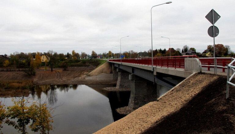 Bauskā atklās rekonstruēto Mūsas tiltu