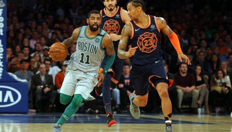 'Knicks' basketbolisti piekāpjas 'Celtics' komandai