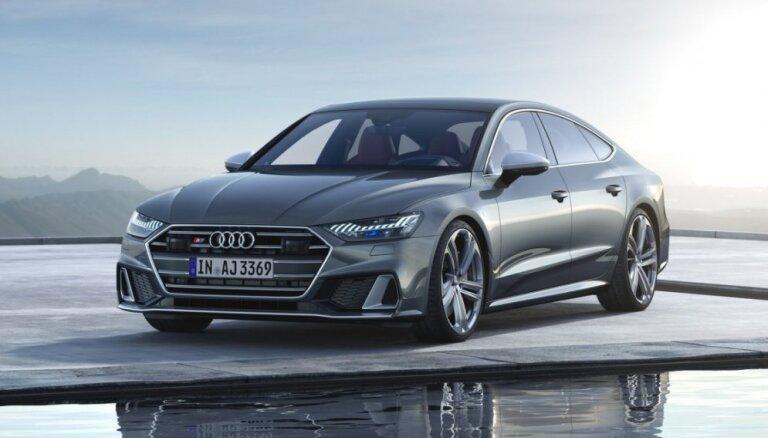 Jaunie 'Audi S6' un 'S7' ar 350 ZS dīzeļdzinēju un daļējo hibrīda sistēmu