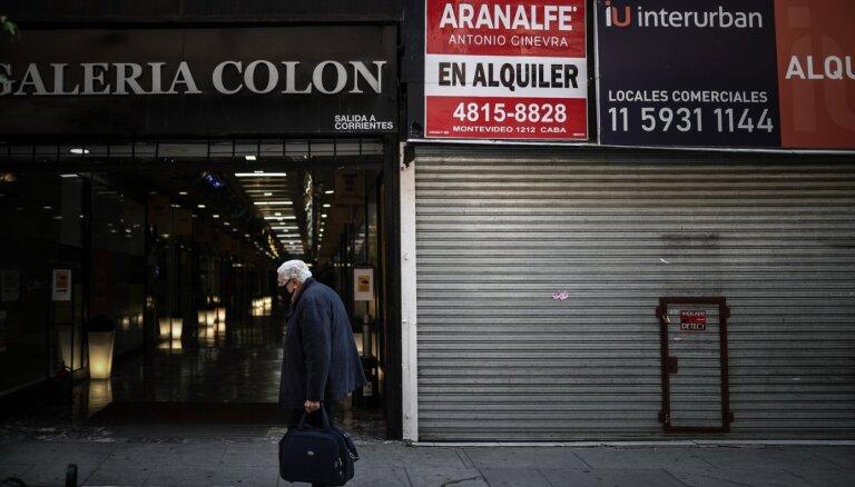 Argentīna noteiks ļoti stingrus ierobežojumus uz deviņām dienām