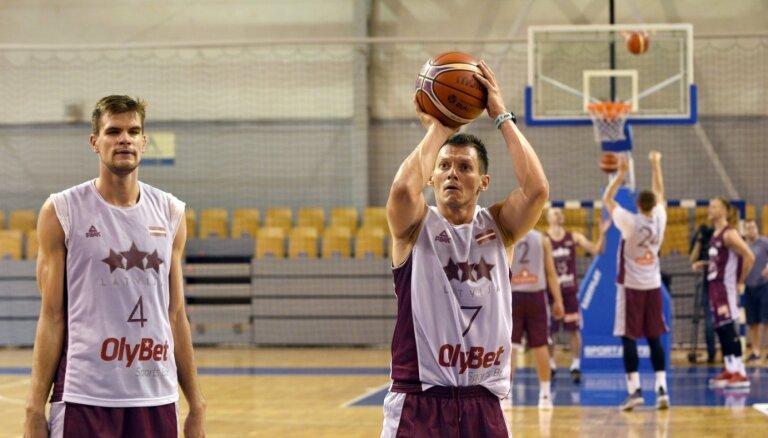 Latvijas basketbola izlases treniņi pulcēs valstsvienības pamatvērtības