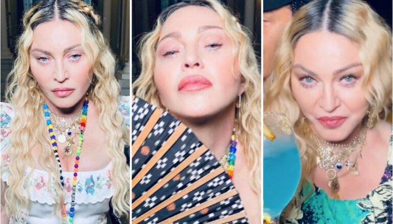 Fanus pārsteidz Madonnas svešādā seja 62. dzimšanas dienas selfijos