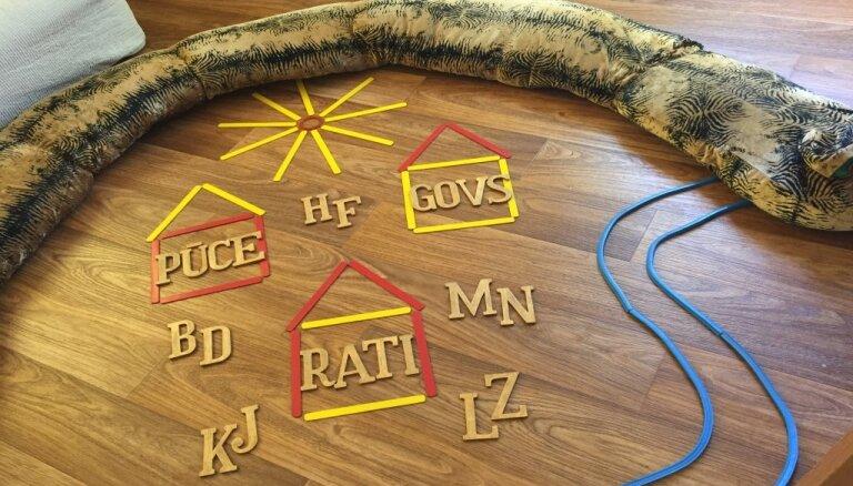 Jūsu bērns rotaļājoties var iemācīties lasīt un rakstīt
