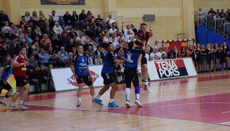 Dobeles 'Tenax' handbolisti pārvar EHF Izaicinājuma kausa otro kārtu