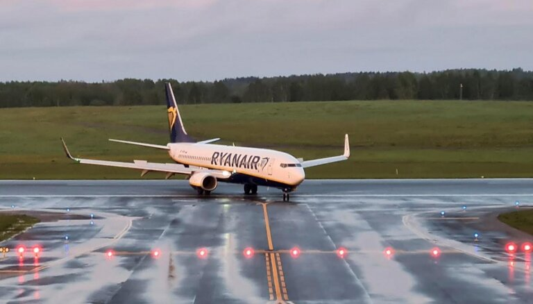 Latvijas policija sākusi kriminālprocesu par 'Ryanair' lidmašīnas sagrābšanu Minskā