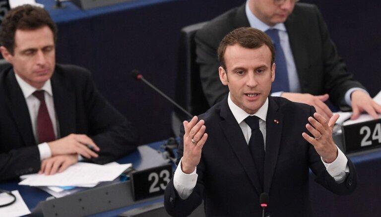 Makrons pauž neizpratni par Francijas kandidātes noraidīšanu uz ES komisāra amatu