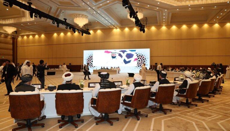 Katarā darbu sāk Afganistānas dialoga konference