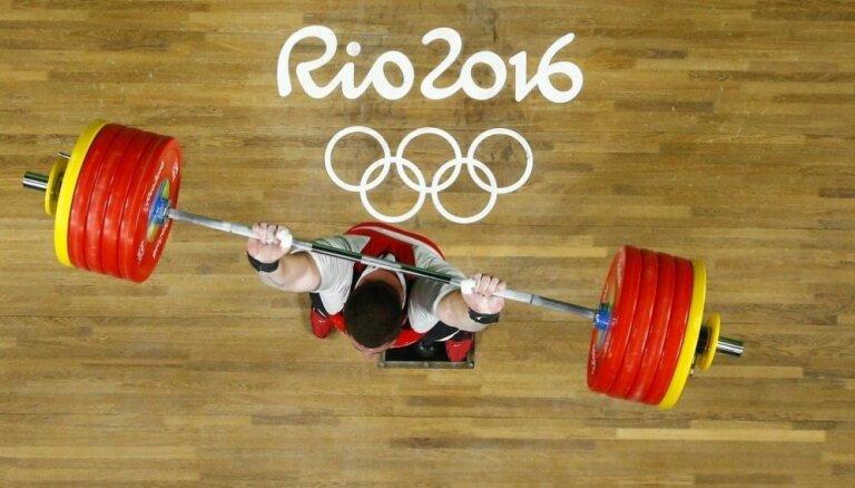Par dopinga lietošanu diskvalificēti četri Rio olimpisko spēļu dalībnieki svarcelšanā