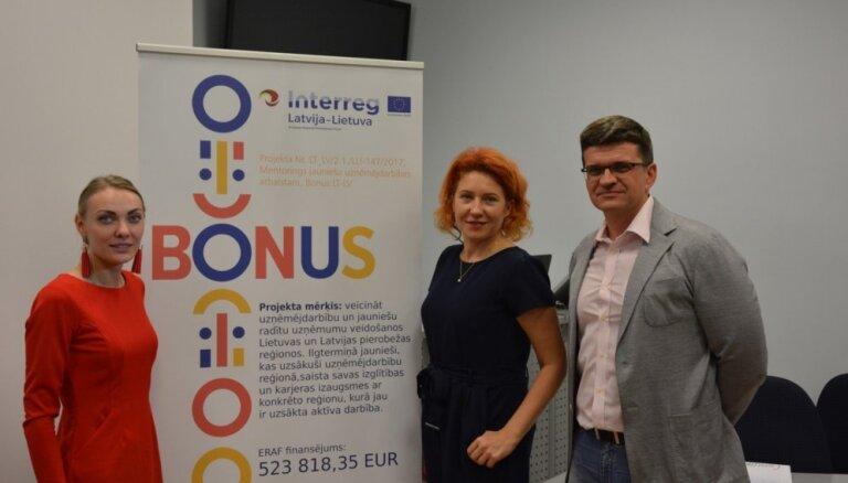 Noslēdzies projekts, kas veicināja jauniešu uzņēmējdarbību Lietuvas un Latvijas pierobežas reģionos